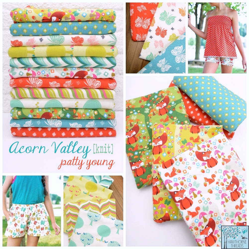 Acorn Valley Knit Fabric Poster 2