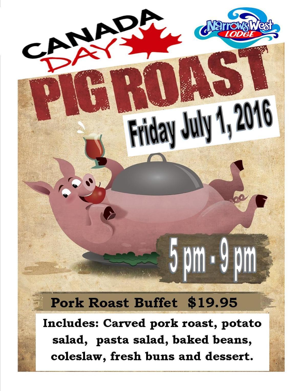 Canada Day Pig Roast