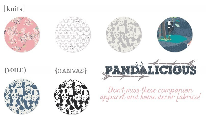 Pandalicious Alternate Substrate Fabrics