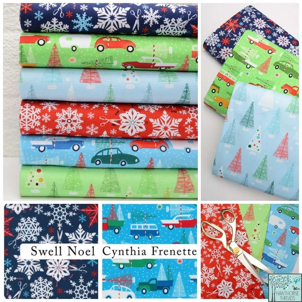 Swell Noel Fabric Poster