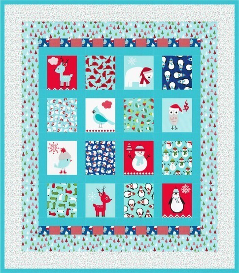 Jingle Wonderland Winter RK FREEQuilt