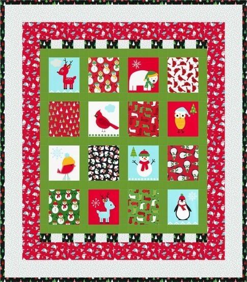 Jingle Wonderland Holiday RK FreeQuilt