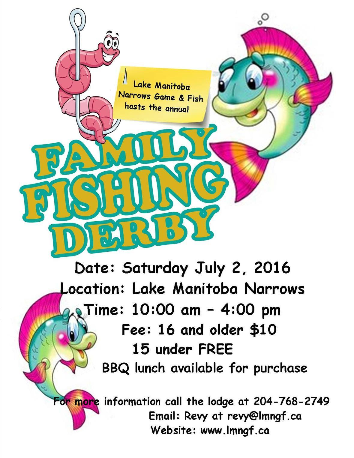 Family Fishing Derby 2016