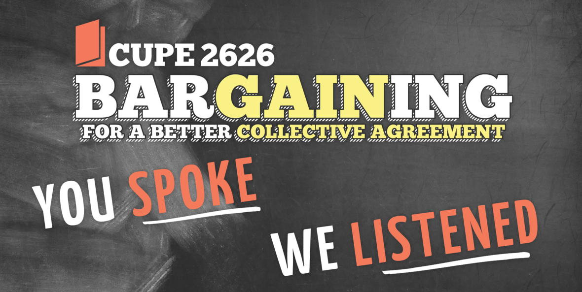Bargaining Survey - newsletter header survey highlights