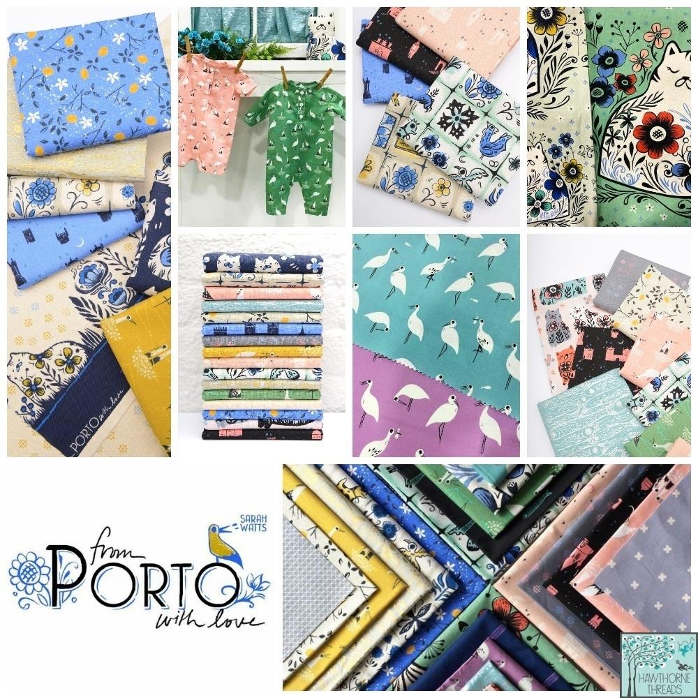 Porto Fabric Poster