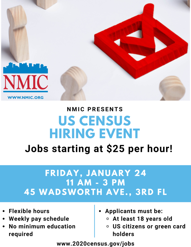 Census Hiring Event
