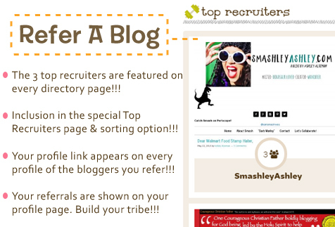 refer a blogger