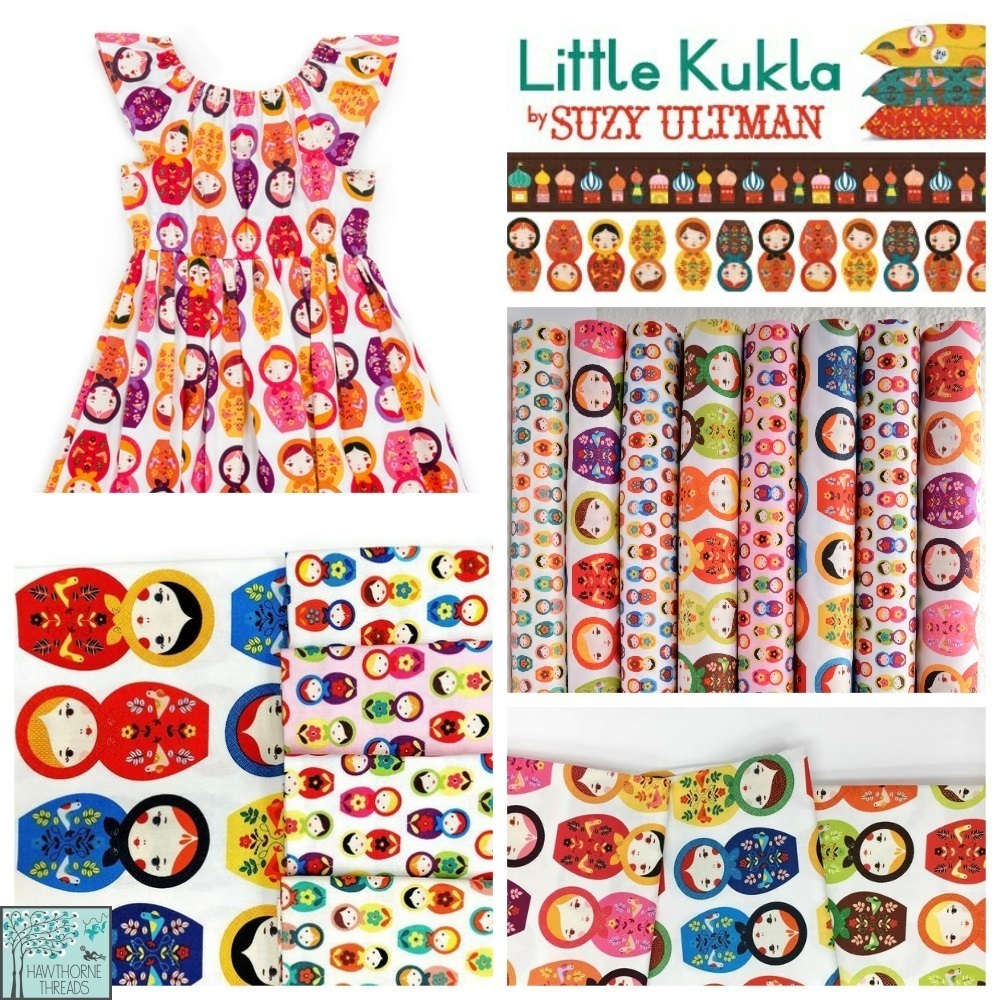 Little Kukla Fabric Poster