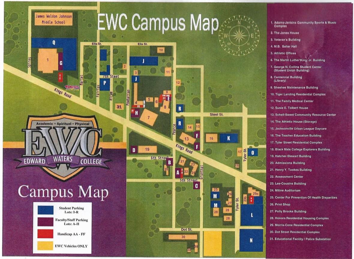 EWC Map