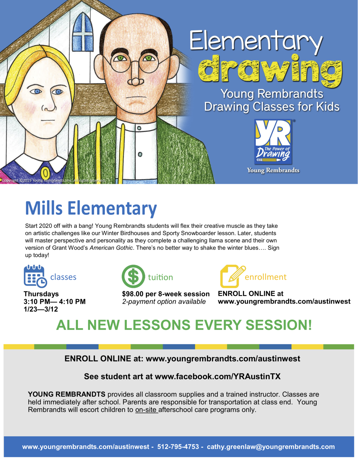Spring Into DRAWING with Young Rembrandts