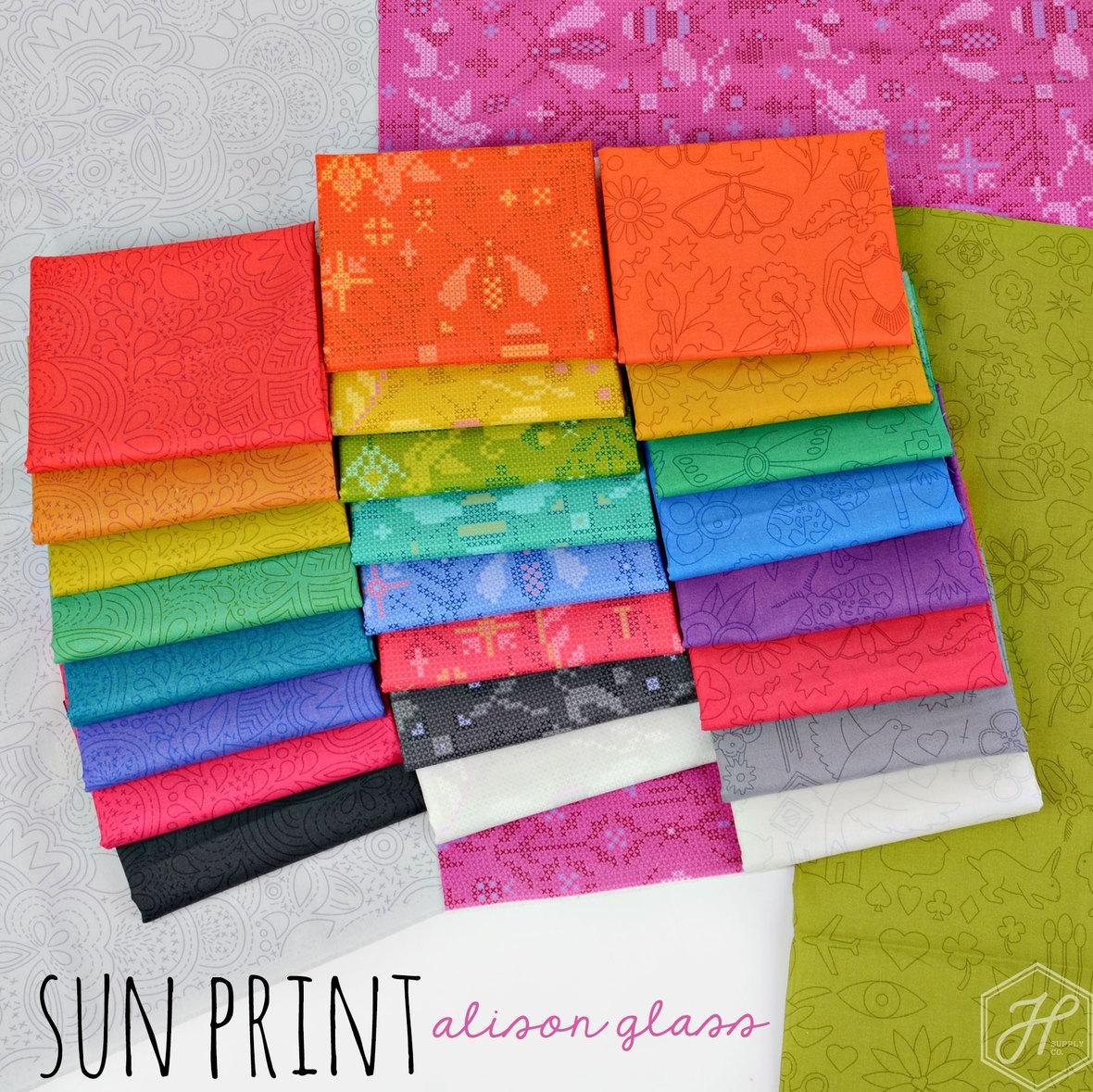 Alison Glass Sun Print 2020 hawthorne supply co