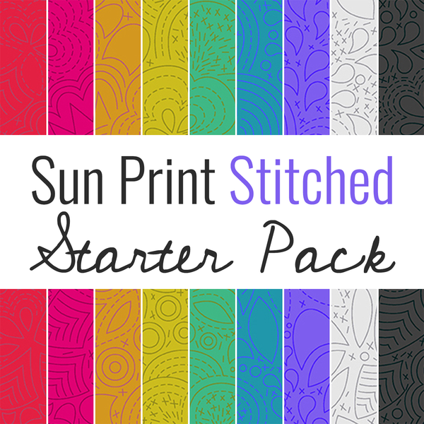 Sun Print Stitched Pack
