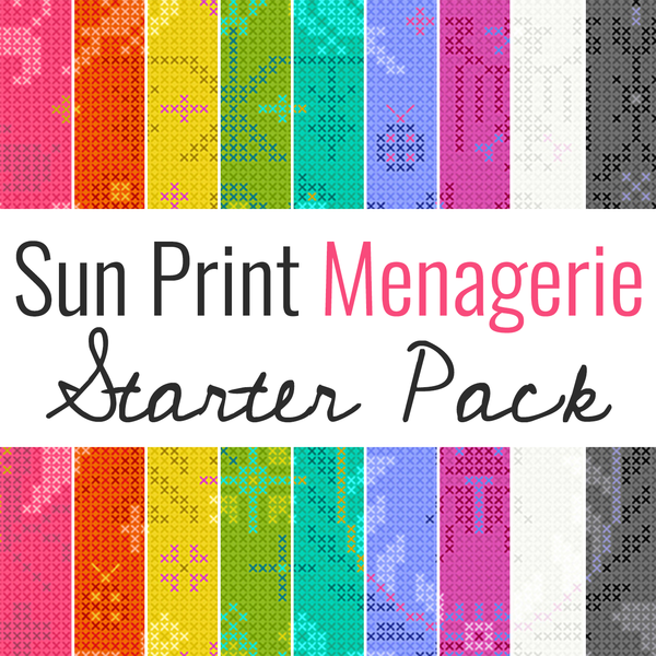 Sun Print Menagerie Pack