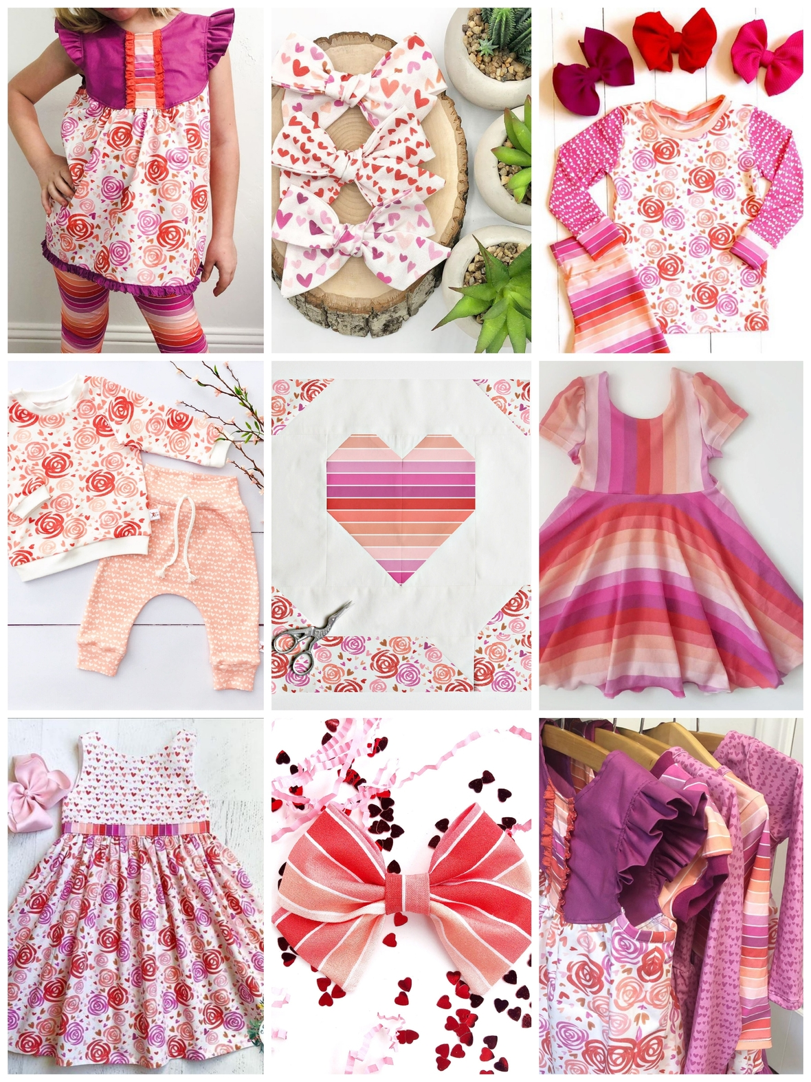 Sweetheart Fabric Maker Instpiration for Valentine Day