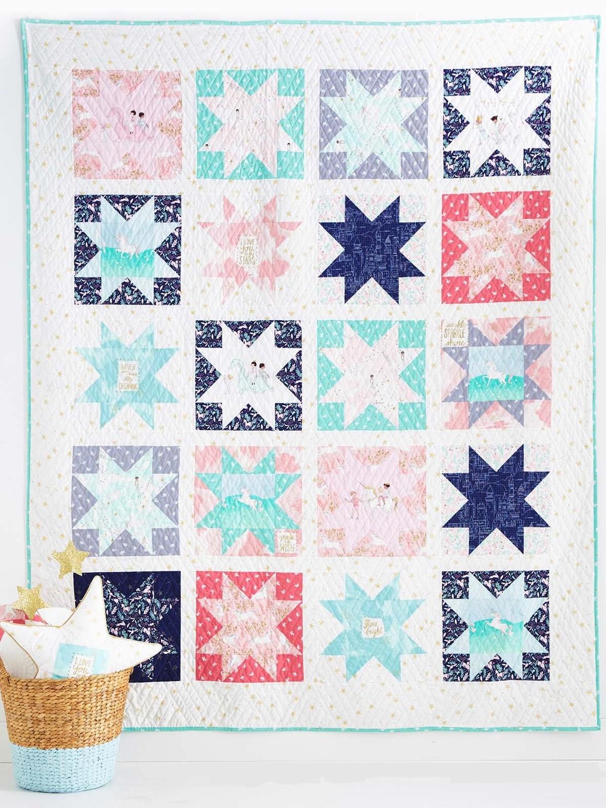 magic stars quilt