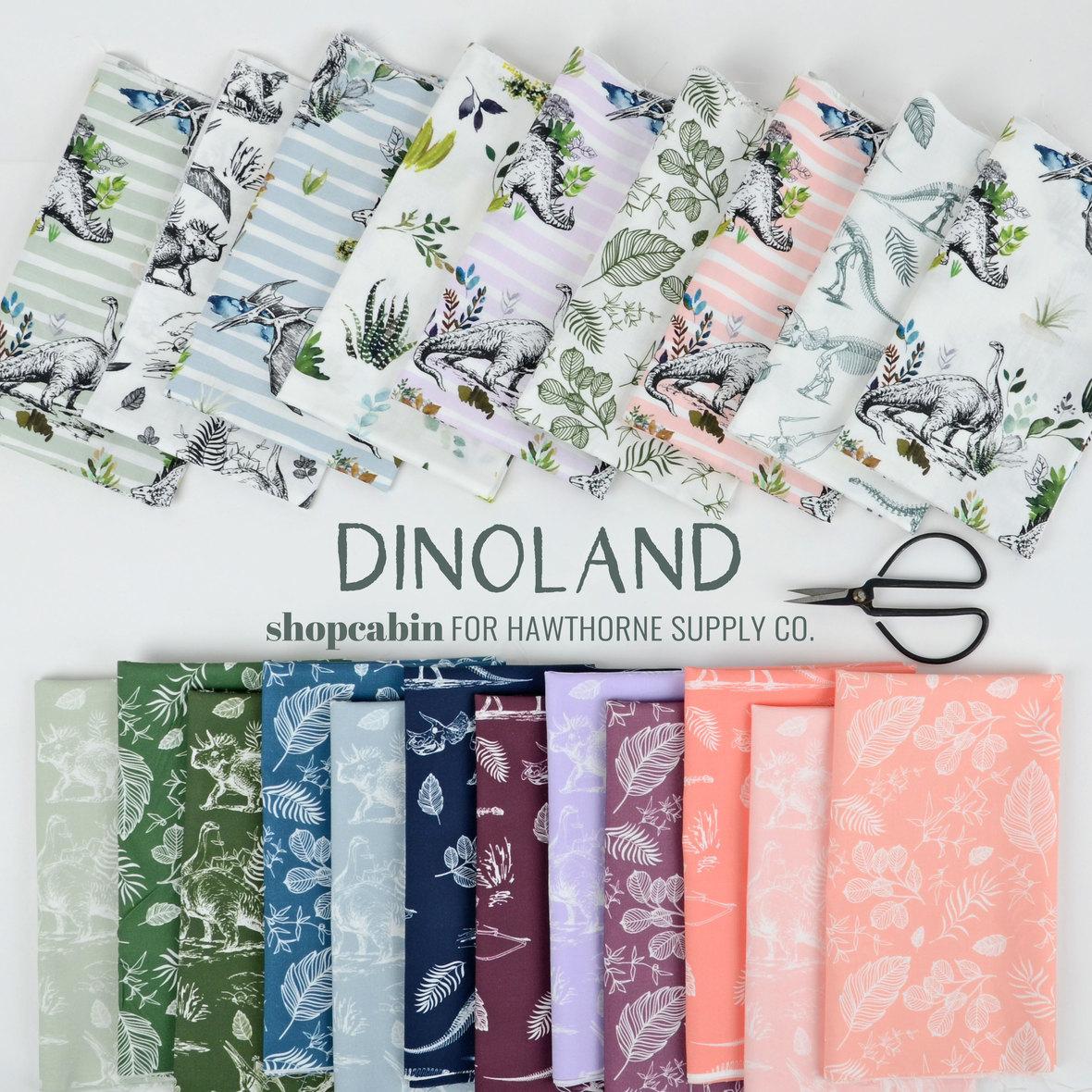 Dinoland-Fabric-Poster-dinosaur-Fabric-Shopcabin-for-Hawthorne-Supply-Co