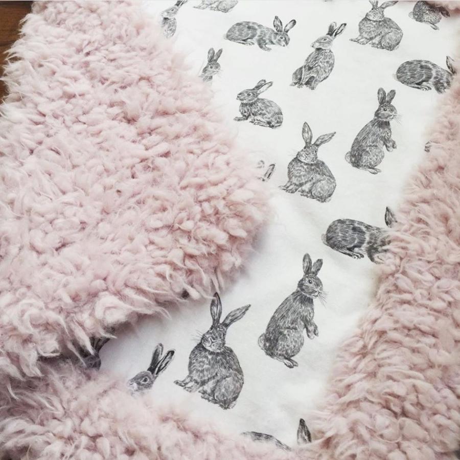 Bunny Fabric Hawthorne Supply Co Meadow