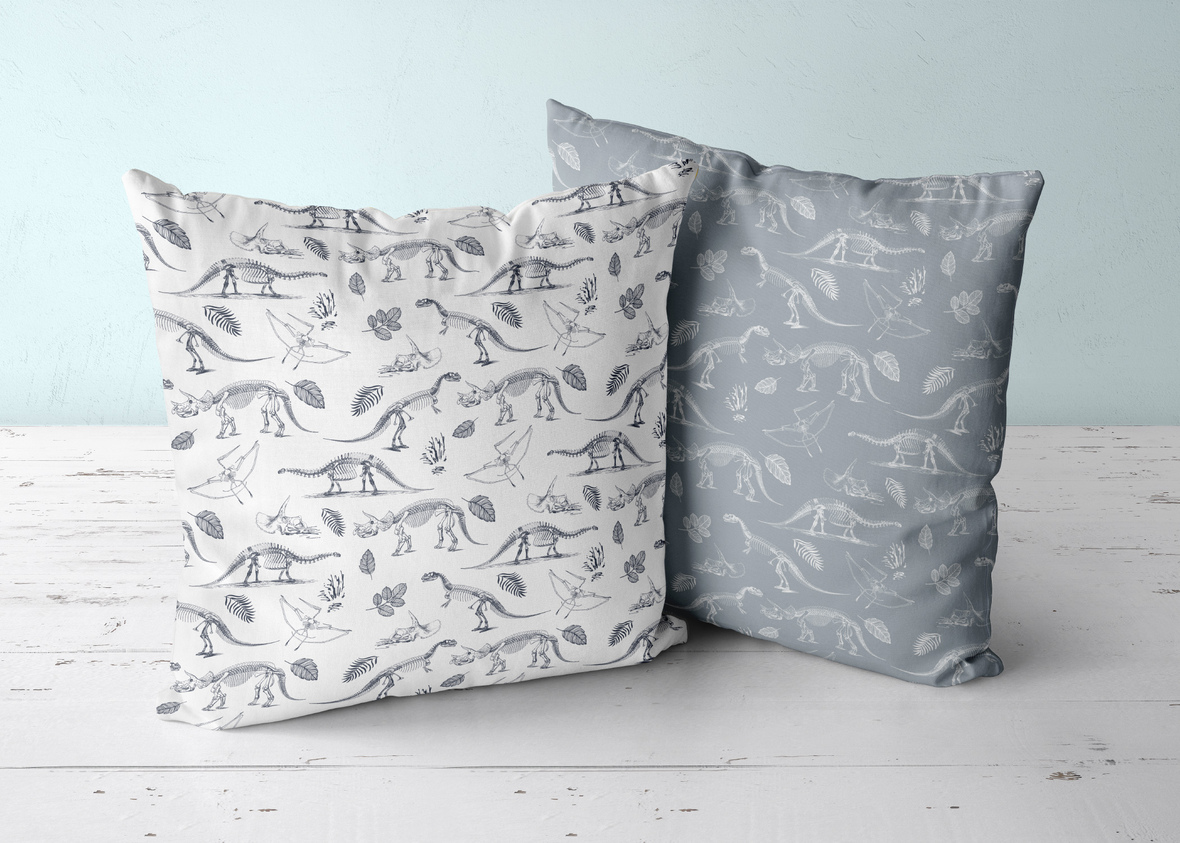 Two Pillows Eclipse and Cloud Fossils
