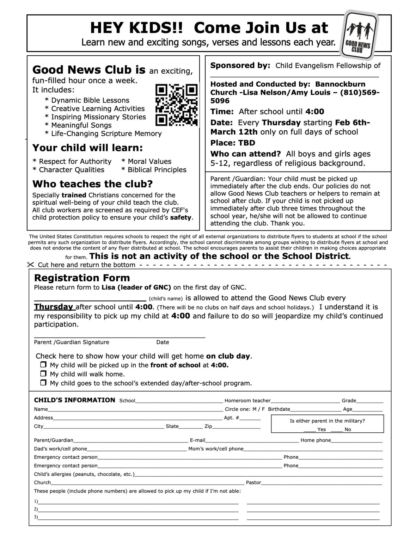 GNC Parent Permission