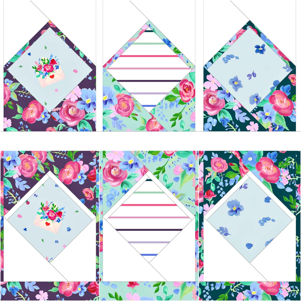 Love Letters Bec Williams and Carolyn Friedlander Pattern