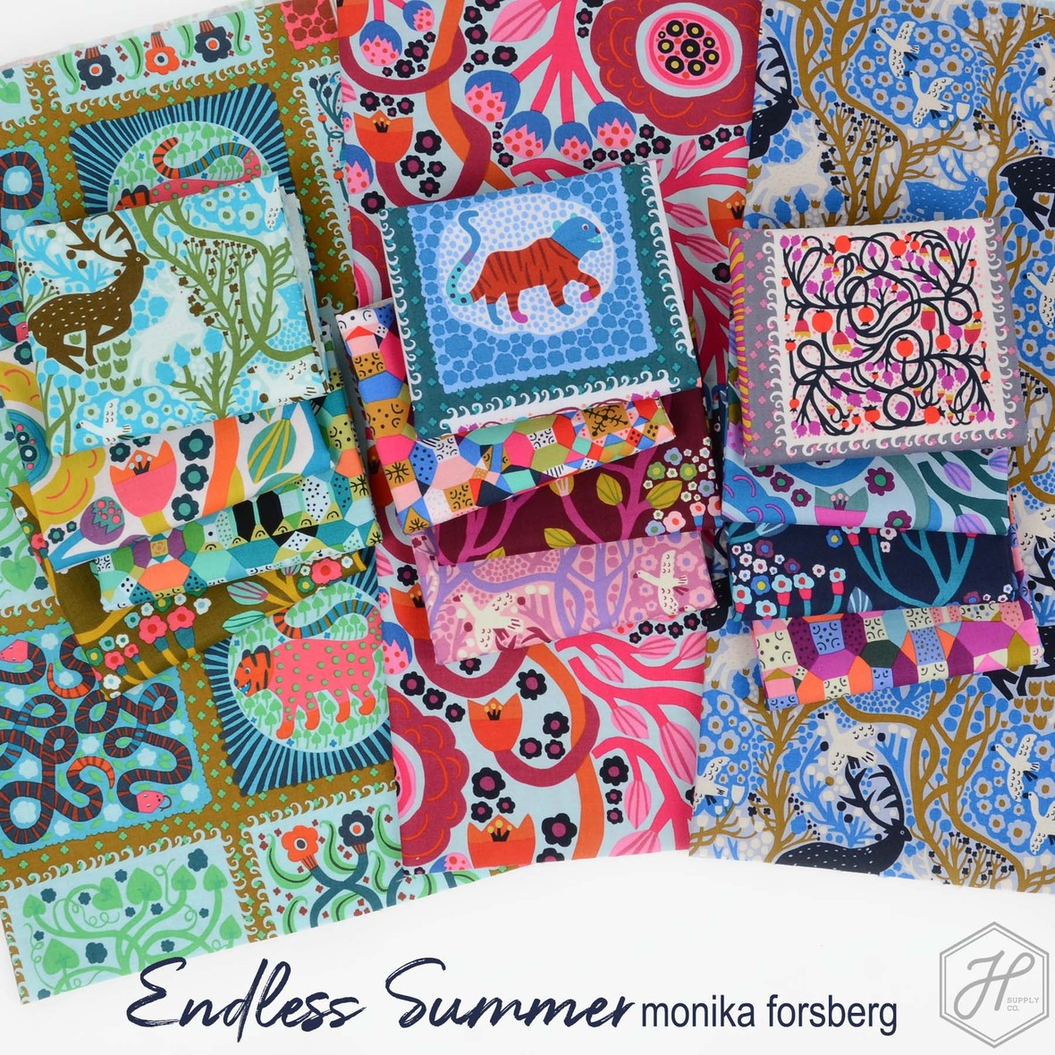 Endless Summer Fabric Poster Conservatory Fabric at Hawthorne Supply Co