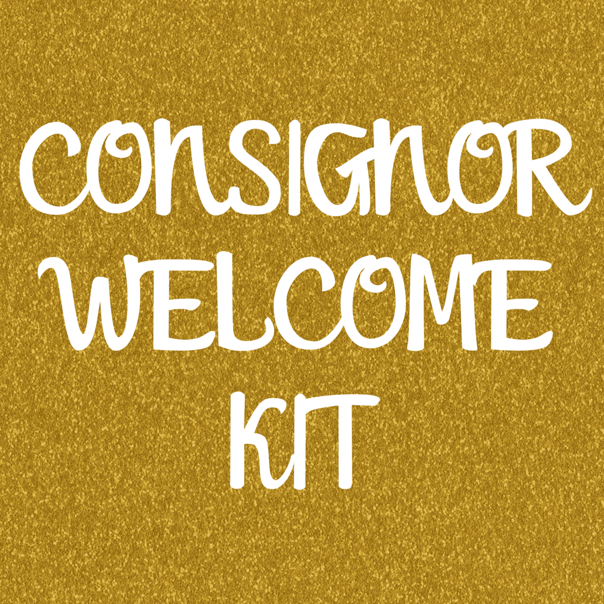 CONSIGNOR WELCOME KIT
