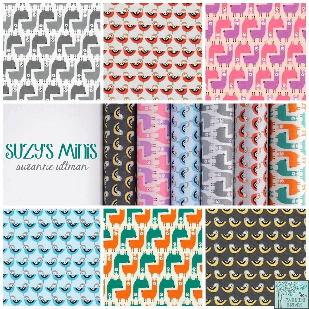 Suzys Minis Fabric Poster