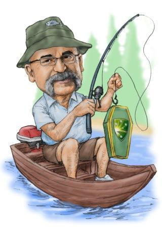 Merv H fishing web