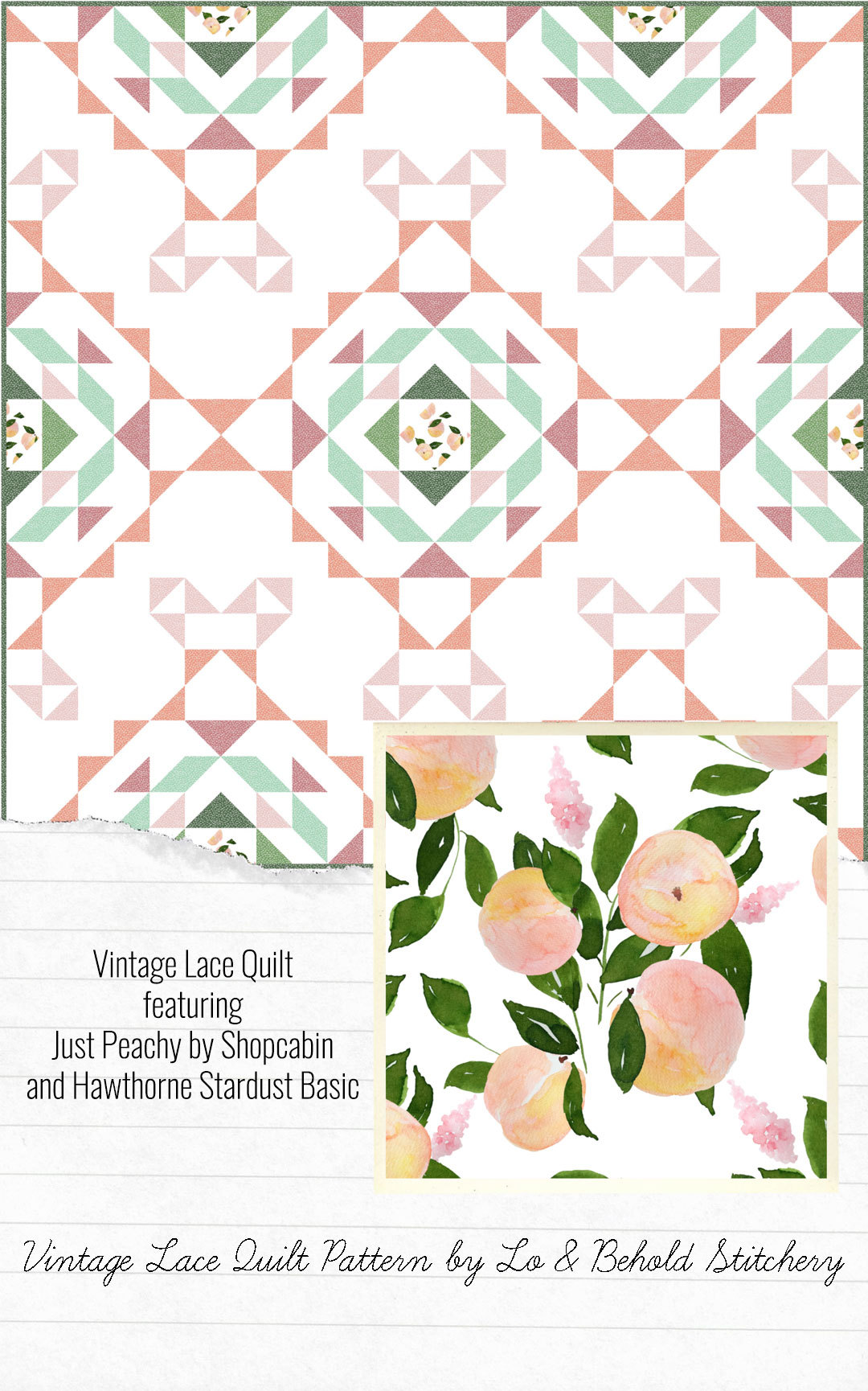 Shopcabin-Just-Peachy-Vintage-Lace-Quilt