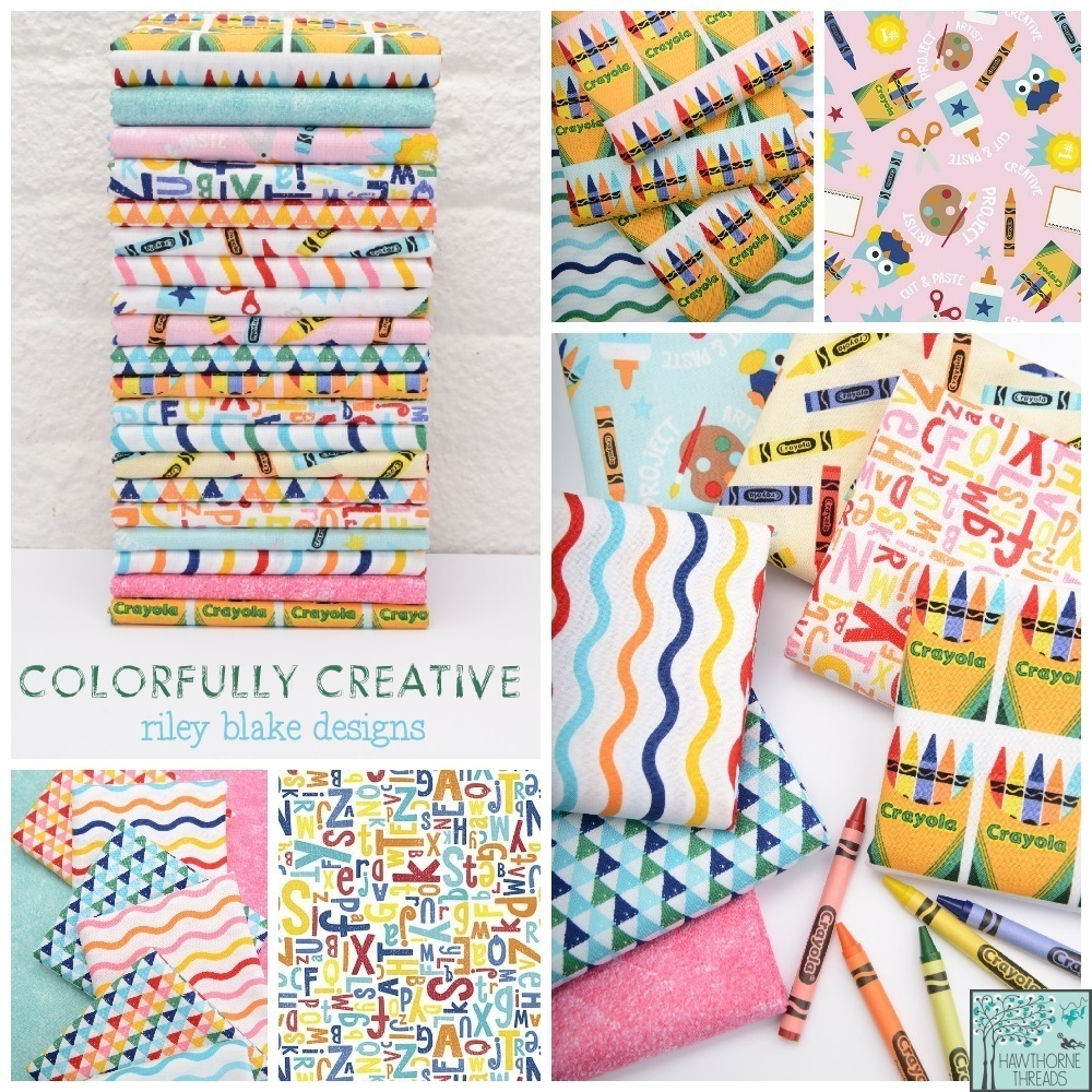 Colorfully Creative Fabric Poster