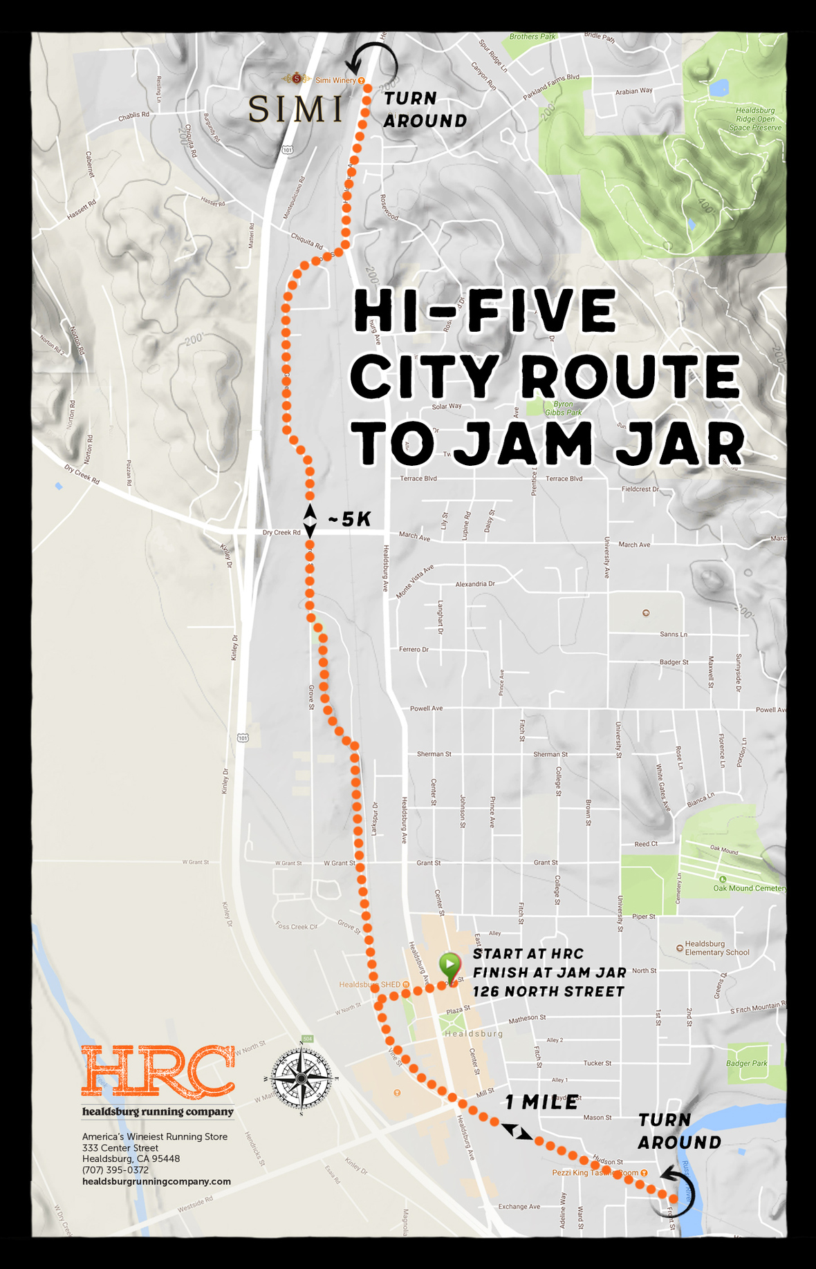 hifive jamjar map
