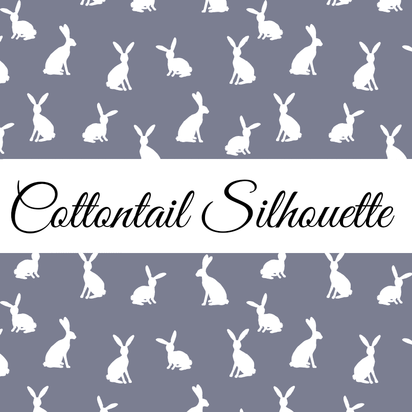 Cottontail Silhouette without Dots  1