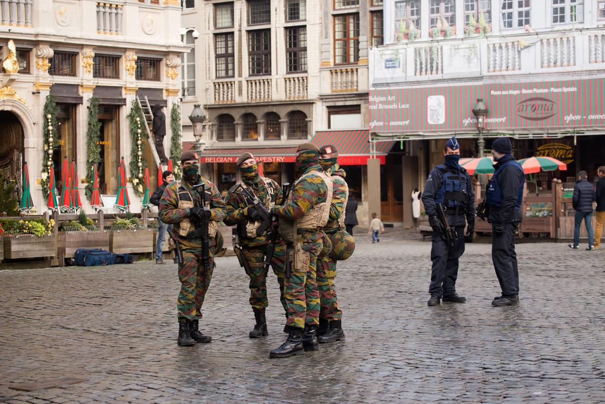 shutterstock Brussels after terrorist attack