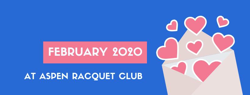 February 2020 at Aspen Racquet Club 4