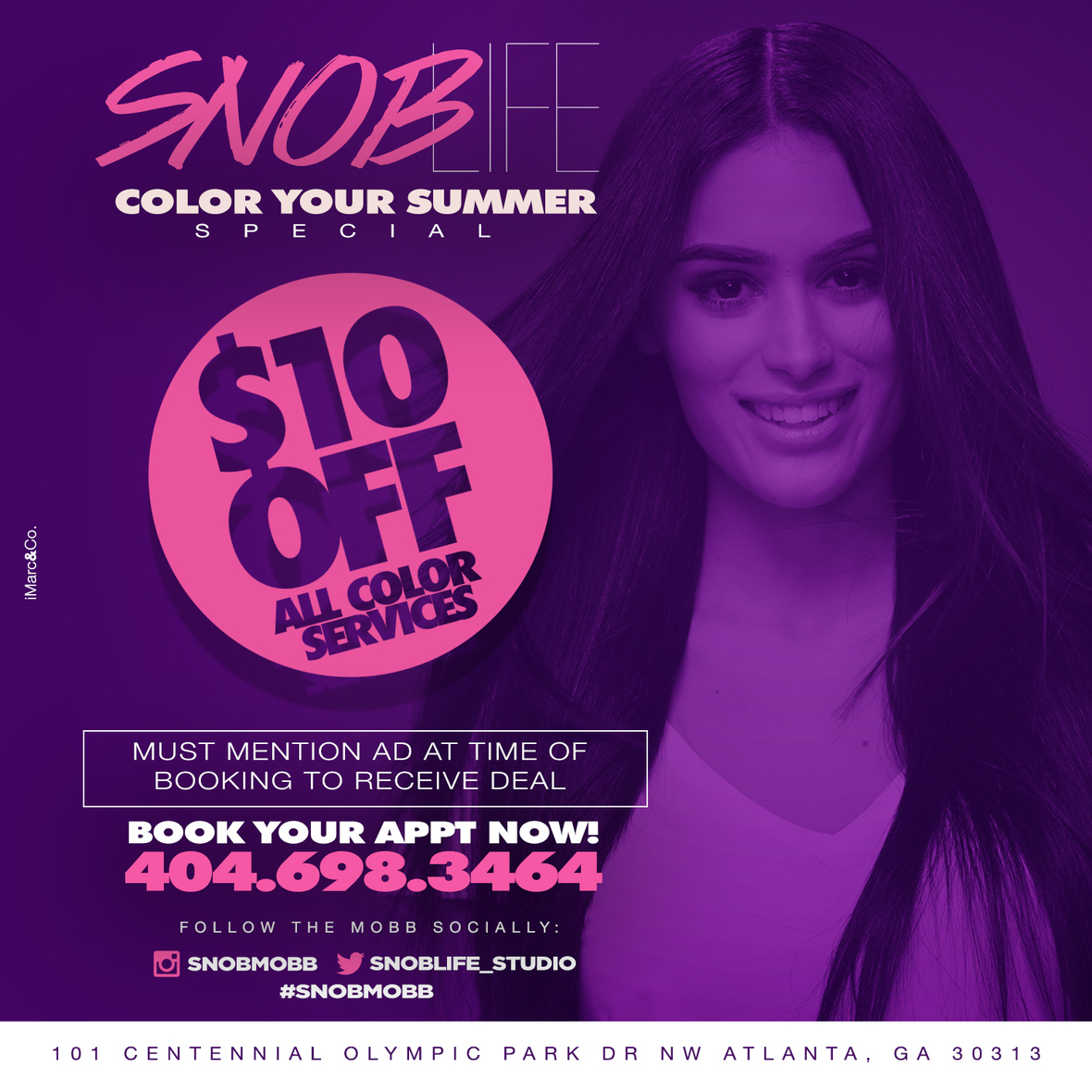 SNOB COLOR YOUR SUMMER 2