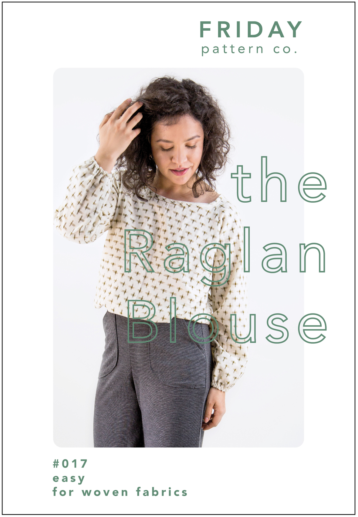 Raglan Blouse Front