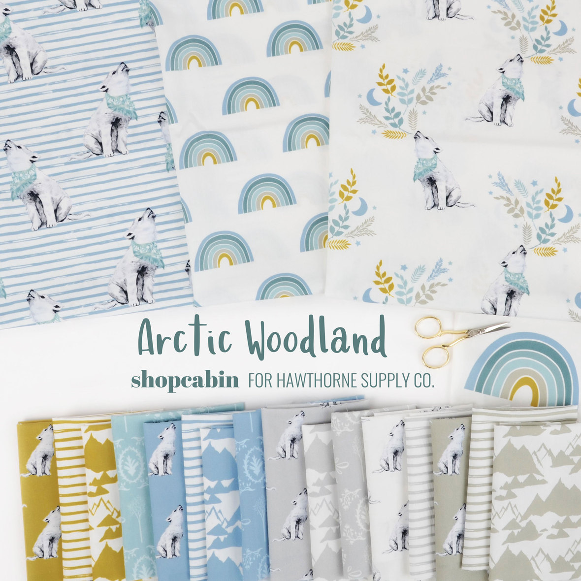 Arctic-Woodland-Fabric-Shopcabin-for-Hawthorne-Supply-Co.
