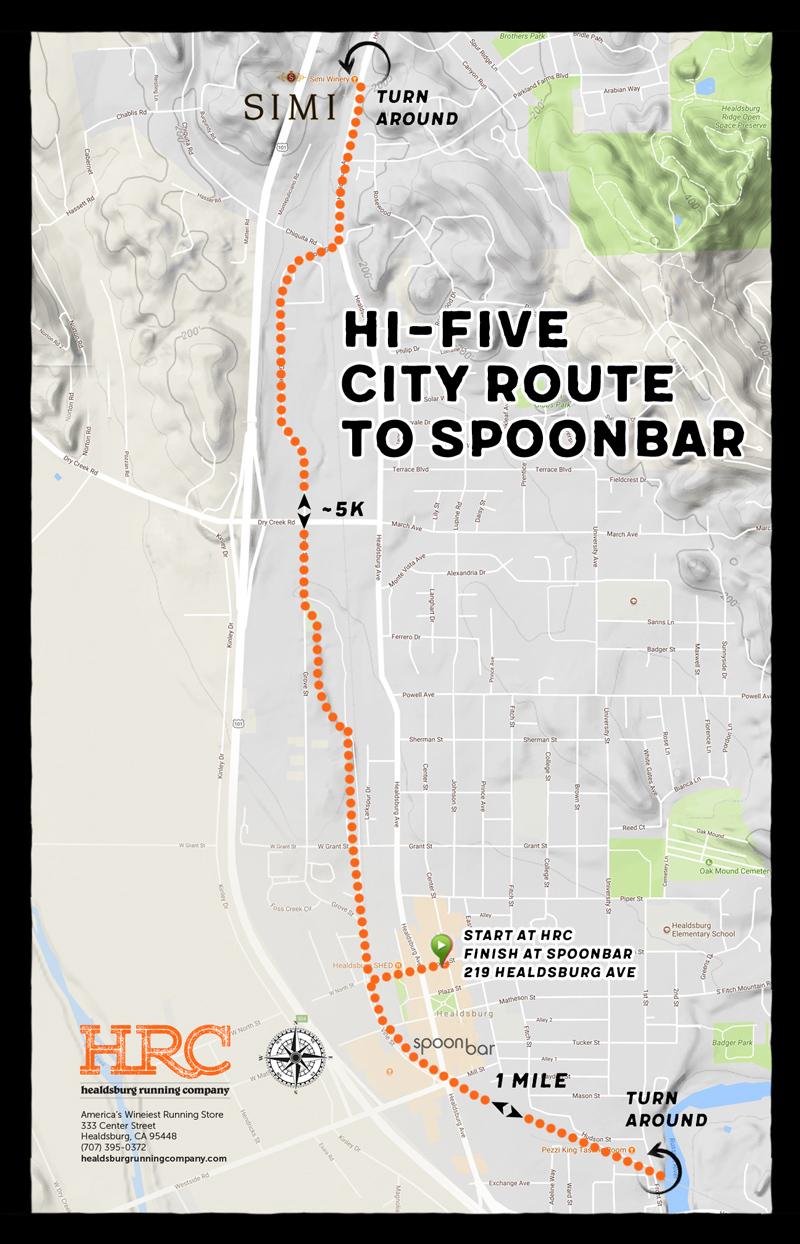 hifive simi spoonbar map