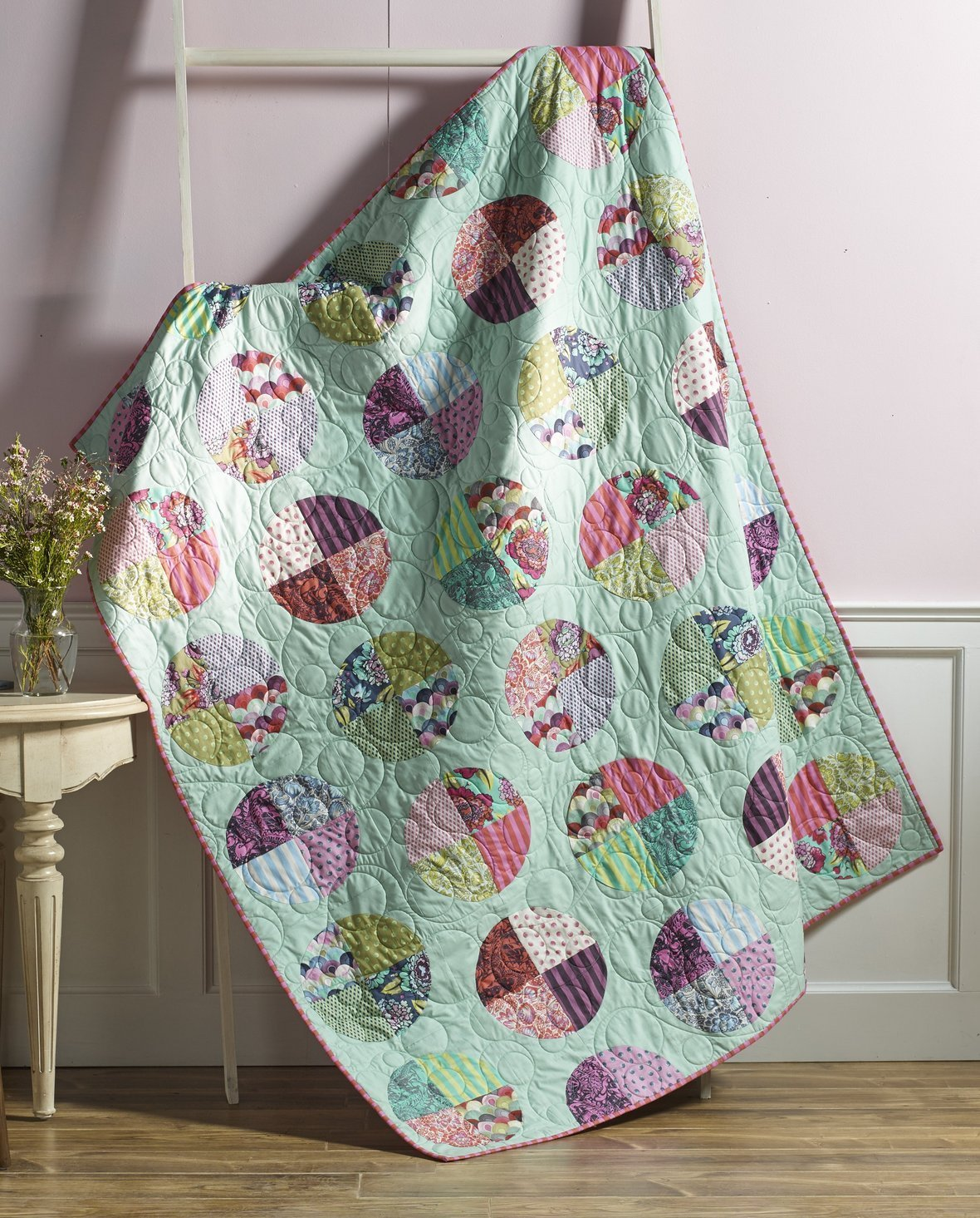 tula pink freckles quilt kit sewing pattern