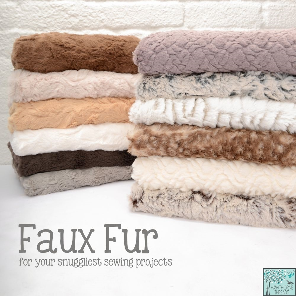 Faux Fur Fabric Poster