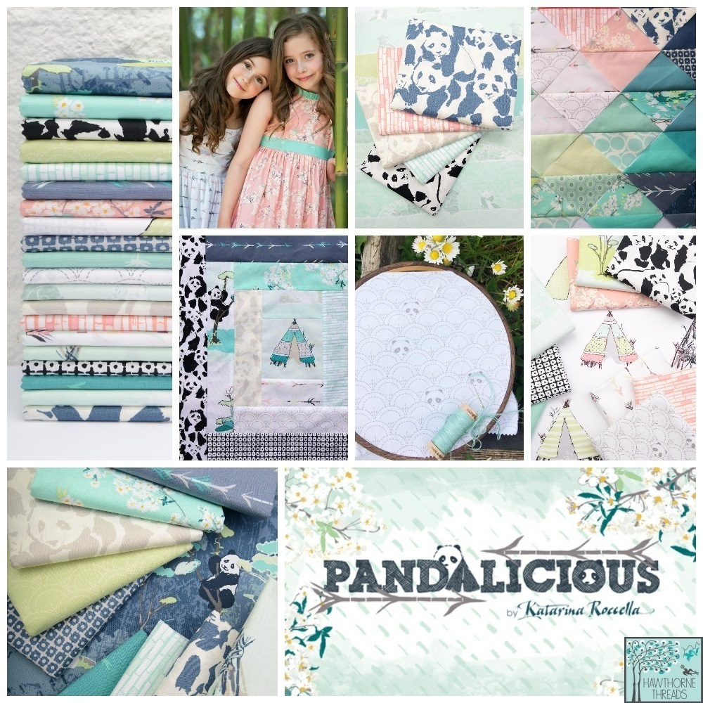 Pandalicious Fabric Poster