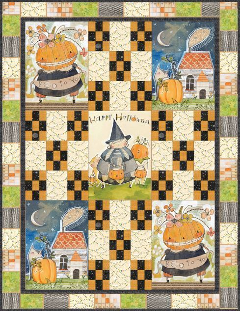 Boo to You quilt  Blend Free Projects