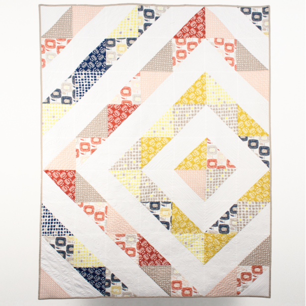 Around The Block Quilt by C9