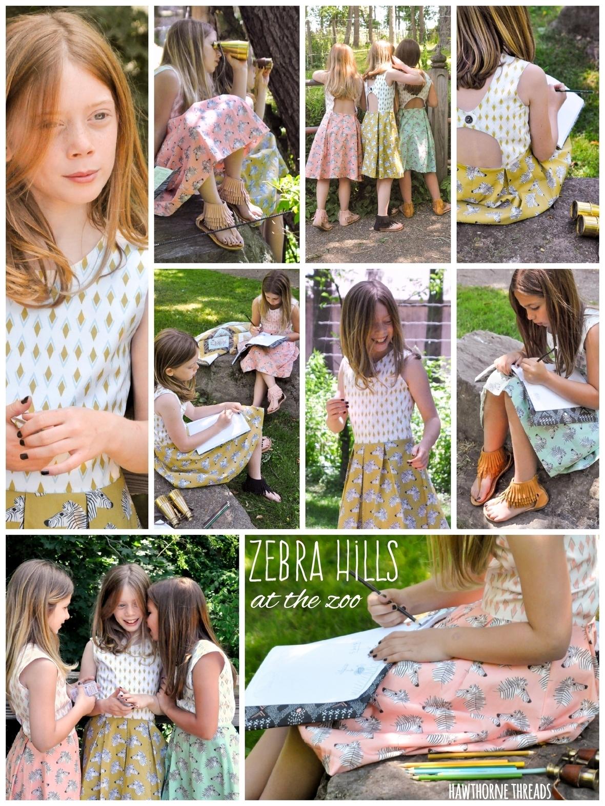 Zebra Hills Rebel Girl Party Dress