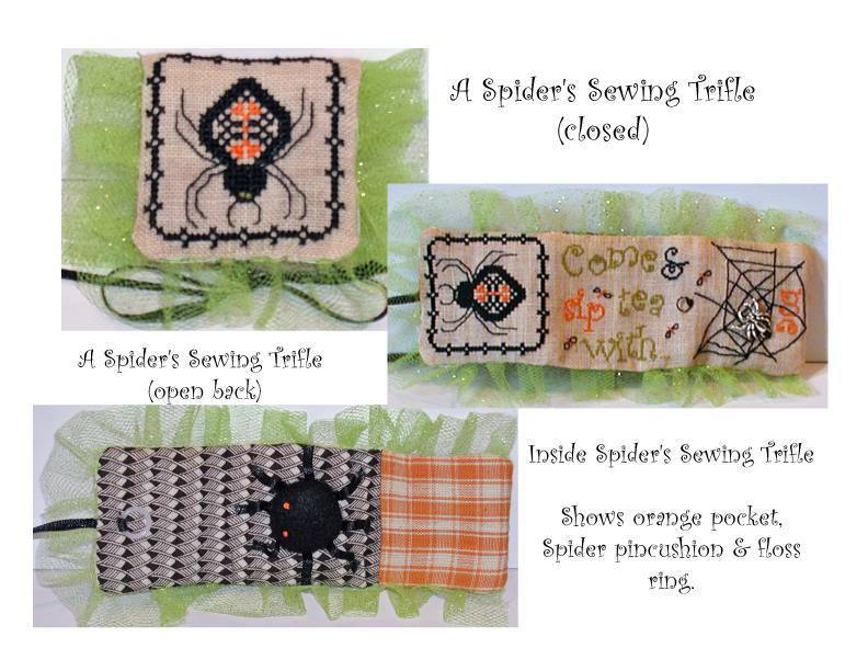 Praiseworthy Stitches Spiders  Sewing Trifle LE kit