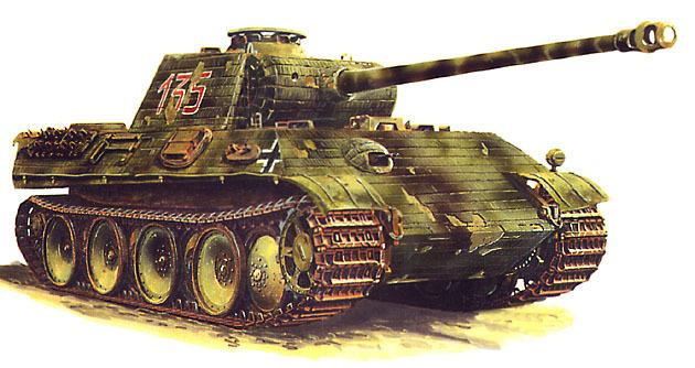 Panzerkampfwagen V Panther-1  1