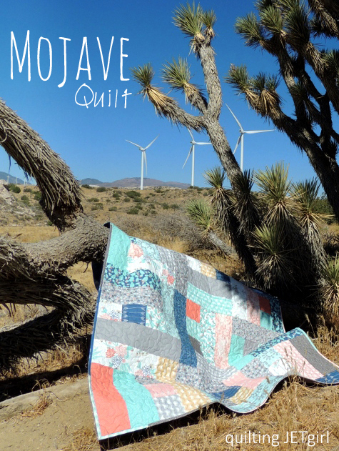 Mojave Fabric Quilt Quilting Jet Girl