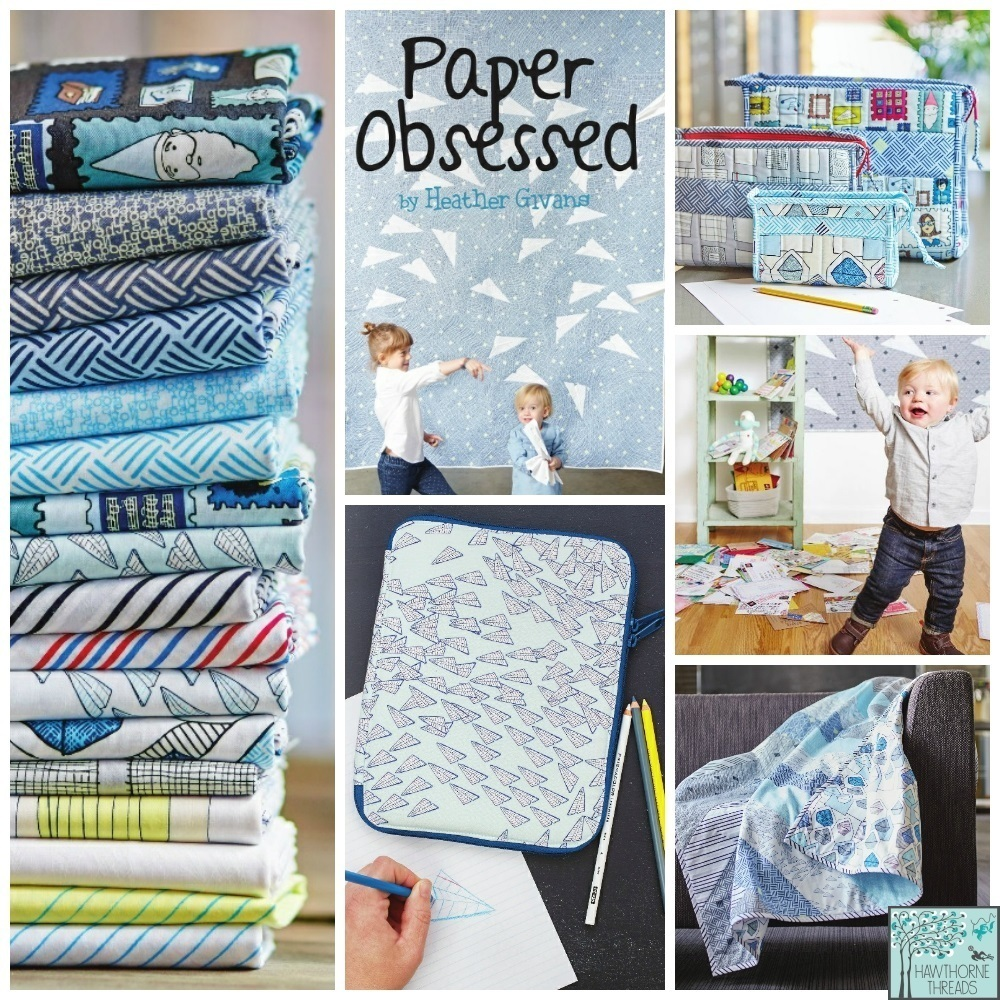 Paper Obsessed Fabric Poster