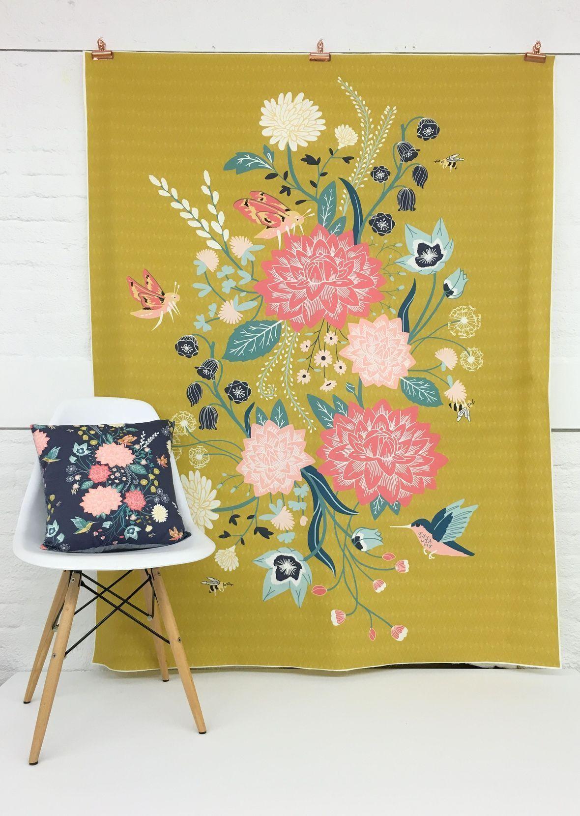 Hawthorne Threads Nectar Quilt Panel