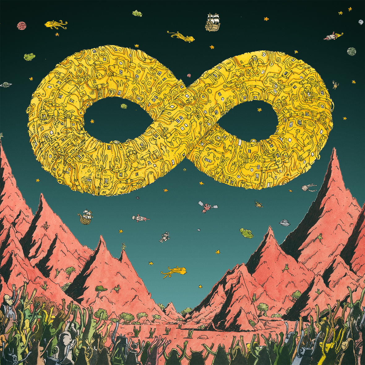 dance gavin dance mothership artwork
